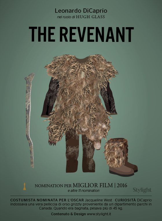 Costumi Oscar - The Revenant (Stylight)